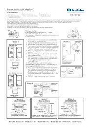Glastürscharnier zur UV-Verklebung - Bohle