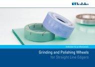 Catalogue Grinding and Polishing Wheels - Bohle AG