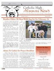 Alumni News - Catholic High School