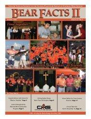 BEARFACTSII BEARFACTSII - Catholic High School