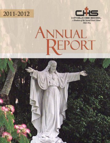 Annual Report 2011-2012 - Catholic High School