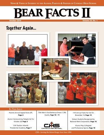 October 1, 2010 - Catholic High School