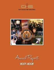 Annual Report - Catholic High School