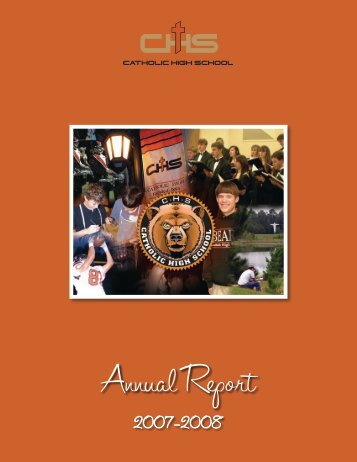 Annual Report - Catholic High School
