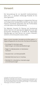 Verlegeanleitung Decra - Decra Dachsysteme GmbH - Seite 2