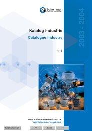Katalog Industrie 2003
