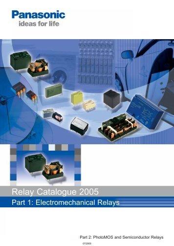 Mechanical Relay Catalog