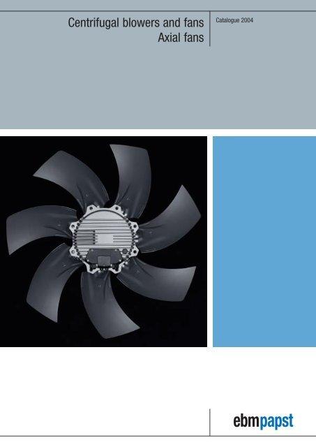 *NEW* ebm-papst Motorized Impeller Fan Blower Ventilator 48 vdc R1G190-AC11-11
