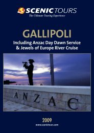Gallipoli Flyer - Scenic Tours