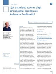 ¿Qué tratamiento podemos elegir para rehabilitar pacientes ... - COEM