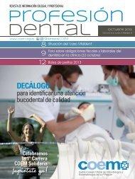 Profesión Dental octubre 2012 - COEM