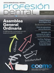 Profesión Dental mayo 2013 - COEM
