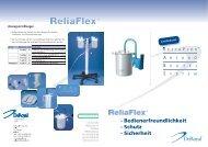 ReliaFlex - Absaugen mit System - Cosanum