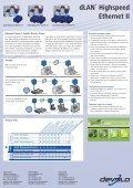 dLAN® Highspeed Ethernet II - wlanshop.fr - Page 2