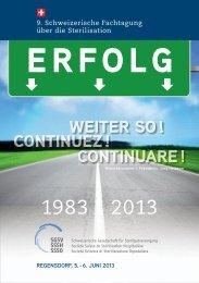 9. Schweizerische Fachtagung über die Sterilisation