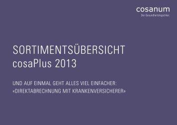 cosaPlus Sortimentsübersicht (PDF) - Cosanum
