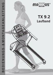 German manual_TX9_2 - MAXXUS - Fitness for Winners.