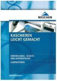 Kaschieren leicht gemacht - Neschen AG