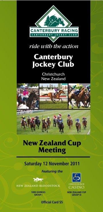 1 - New Zealand Thoroughbred Racing
