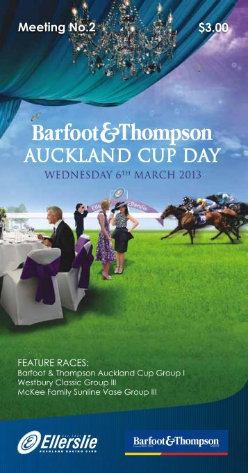 auckland cup day - New Zealand Thoroughbred Racing