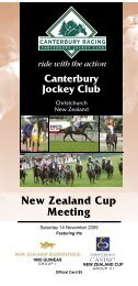 2 - New Zealand Thoroughbred Racing