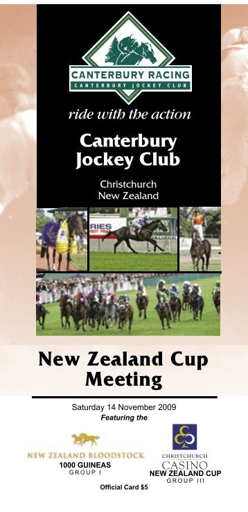 2 - New Zealand Thoroughbred Racing