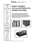Sheet Rubber, Packing, Gaskets & Gasket Material - Potomac ... - Page 2