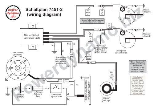 Schaltplan 7451-2  Wiring Diagram