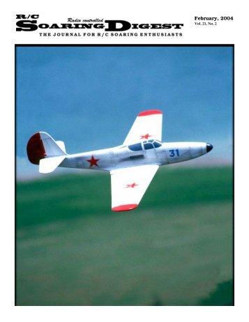 February, 2004 - RCSoaring