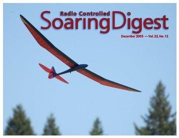 December 2005 — Vol. 22, No. 12 - RC Soaring - RCSoaring.com