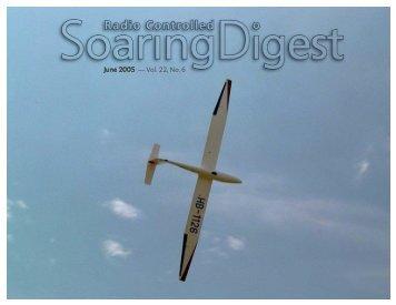 June 2005 — Vol. 22, No. 6 - Rcsoaring.com