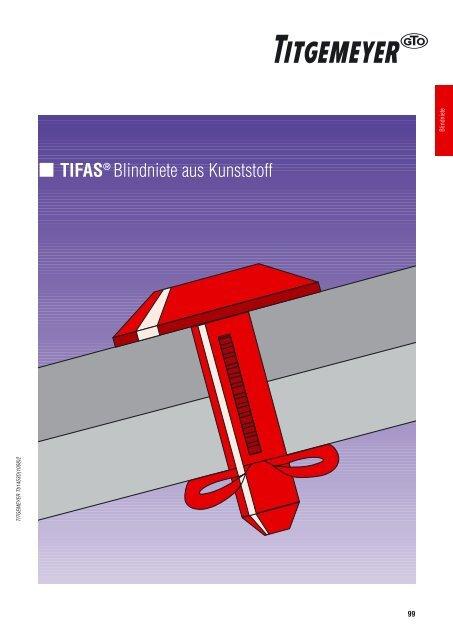 TIFAS® Blindniete aus Kunststoff