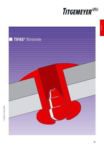 TIFAS® Blindniete