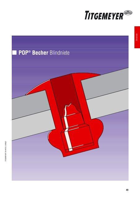 POP® Becher Blindniete