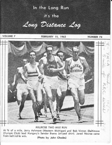 Ar 3/ of a mile, Jerry Ashmore (Western Michigan ... - Rrcahistory.org