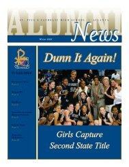 Dunn It Again! - St. Pius X Catholic High School
