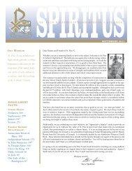 St. Pius X, an archdiocesan high school, provides a college ...
