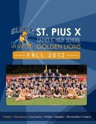 goldenlions - St. Pius X Catholic High School