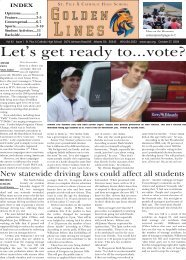 Let's get ready to...vote? - St. Pius X Catholic High School