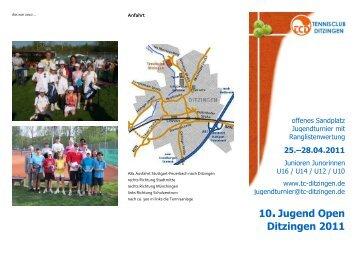 10.Ditzingen Open 2011 - Tennisclub Ditzingen