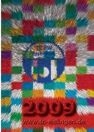 Vereinszeitschrift 2009 - Herzlich Willkommen auf den Seiten des ...