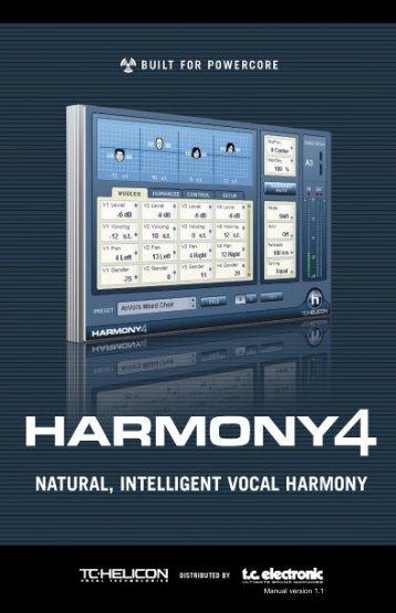 Harmony4 Powercore Manual FR v1.1_1801.qxp - TC Electronic