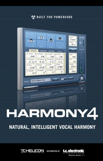 Harmony4 Powercore Manual FR v1.1_1801.qxp - TC Electronic