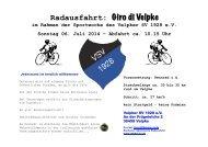 Radausfahrt: Giro di Velpke 2014