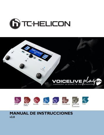 MANUAL DE INSTRUCCIONES - TC-Helicon