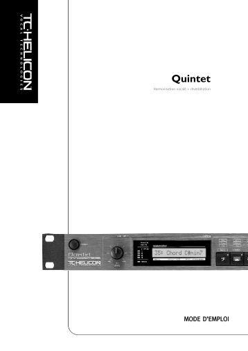 Quintet - TC-Helicon