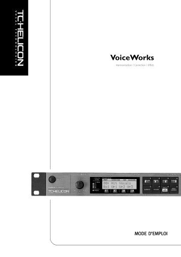 VoiceWorks - TC-Helicon