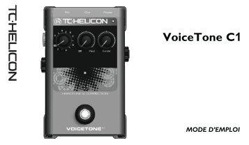 VoiceTone C1 - TC-Helicon
