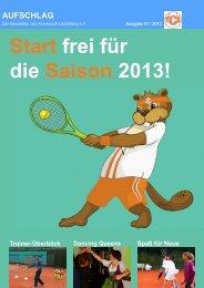 Newsletter 01/2013 - Tennisclub Landsberg e. V.