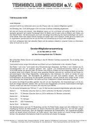 PDF-Newsletter - TC Menden